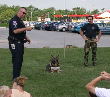 police dog k9 training obedience